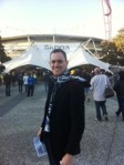 Andrew at Skoda Stadium, Collingwood vs Greater Western Sydney