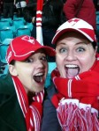Carissa & me at the SCG