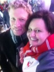 Craig Bolton & me - 2012 AFL Grand Final
