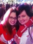 Erin & me - 2012 AFL Preliminary Final