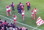 Lap of Honour - 2012 AFL Grand Final