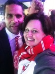 Michael O'Loughlin & me - 2012 AFL Grand Final