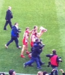 Nick Smith, Ted Richards & Nick Malceski - 2012 AFL Grand Final
