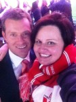 Paul Williams & me - 2012 AFL Grand Final