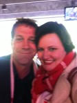 Rhys Muldoon & me - 2012 AFL Grand Final